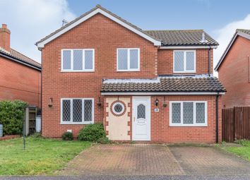 Thumbnail 4 bed detached house for sale in Campion Way, Sheringham