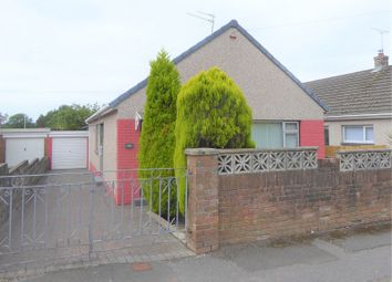 Thumbnail 3 bed bungalow for sale in Heol-Y-Groes, Litchard, Bridgend.