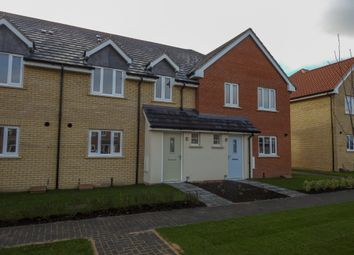 Thumbnail 3 bed terraced house for sale in Carr Avenue, Leiston, Suffolk