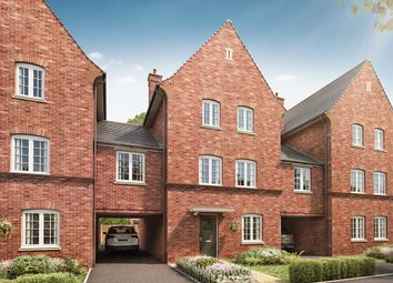 """Thumbnail 4 bedroom town house for sale in """"The Clipstone"""" at Kiln Drive, Stewartby, Bedford"""