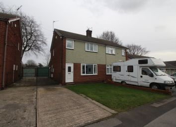 Thumbnail 2 bed semi-detached house for sale in Katrina Grove, Featherstone, Pontefract, West Yorkshire