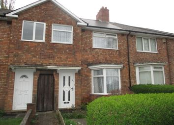Thumbnail 3 bedroom terraced house for sale in Blounts Walk, Erdington