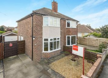 Thumbnail 2 bed semi-detached house for sale in Redthorn Drive, York, North Yorkshire, Eengland