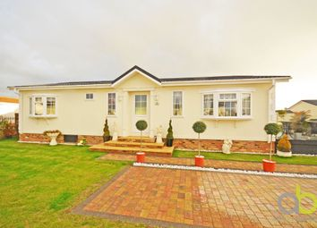 Thumbnail 2 bed mobile/park home for sale in Kings, Kingsmere Close, Canvey Island