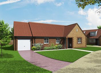 Thumbnail 3 bedroom detached bungalow for sale in Church Lane, Heacham, King's Lynn