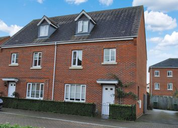 Thumbnail 4 bed semi-detached house for sale in Coldstream Way, Thatcham