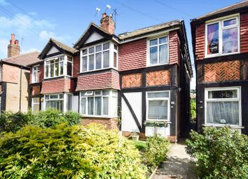 Thumbnail 3 bed flat to rent in Abbott Avenue, London