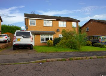 Thumbnail 3 bed semi-detached house for sale in Newbattle Place, Glasgow