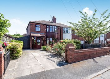 Thumbnail 3 bedroom semi-detached house for sale in Rookery Avenue, Abbey Hey, Manchester