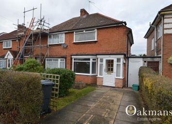 Thumbnail 2 bed semi-detached house to rent in Woolacombe Lodge Road, Birmingham, West Midlands.