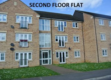 Thumbnail 2 bed flat for sale in Falcon Court, Falcon Way, Bourne, Lincolnshire