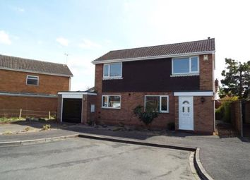 Thumbnail 3 bed detached house for sale in Westward Close, Uttoxeter, Staffordshire