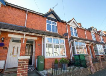 Thumbnail 4 bed terraced house for sale in Chilham Road, Folkestone