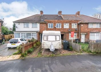 3 bed terraced house for sale in Chaucer Grove, Acocks Green, Birmingham, West Midlands B27