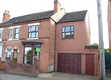 Thumbnail 4 bed semi-detached house for sale in Garendon Road, Shepshed, Leicestershire