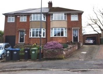 Thumbnail 3 bed semi-detached house to rent in Wheatfield Road, Rugby, Warwickshire