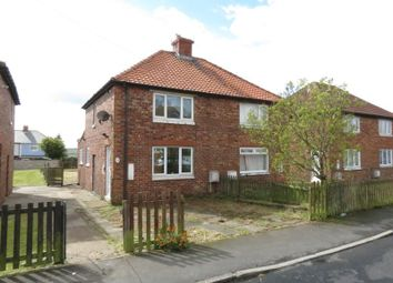 Thumbnail 2 bed semi-detached house for sale in Moncrieff Terrace, Easington, Peterlee