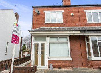Thumbnail 3 bed semi-detached house for sale in Sheffield Road, Killamarsh, Sheffield