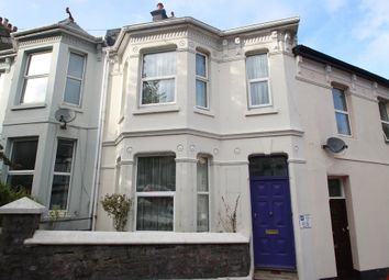 Thumbnail 3 bedroom terraced house for sale in Lisson Grove, Mutley, Plymouth