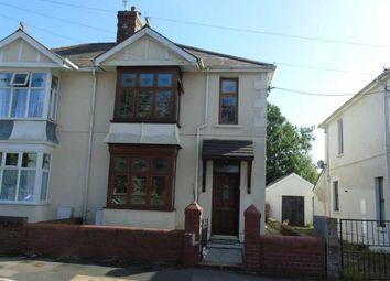 Thumbnail 3 bed semi-detached house for sale in Gelli Road, Bryn, Llanelli