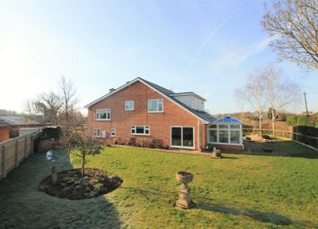 Thumbnail 4 bed detached house for sale in Auberrow, Wellington