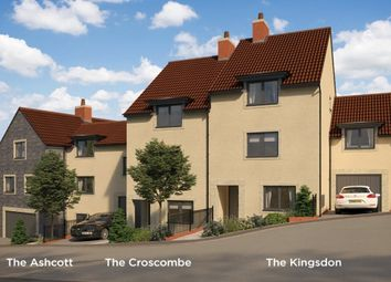 "Thumbnail 2 bedroom town house for sale in ""The Ashcott"" at Pesters Lane, Somerton"