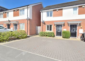 Thumbnail 2 bed semi-detached house for sale in Adventurer Way, Thurmaston, Leicester