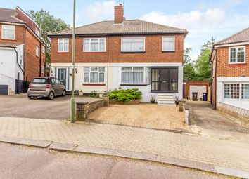 3 bed semi-detached house for sale in Langley Crescent, Edgware, London HA8