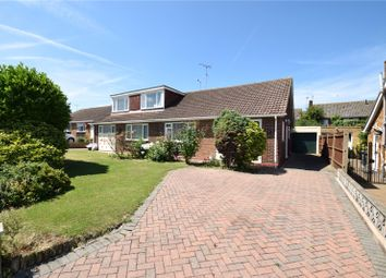 Thumbnail 2 bed semi-detached bungalow for sale in Rectory Road, Swanscombe, Kent