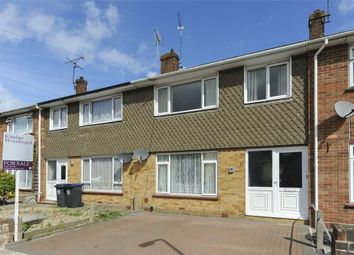 Thumbnail 3 bed terraced house for sale in Greenhill Gardens, Greenhill, Herne Bay, Kent