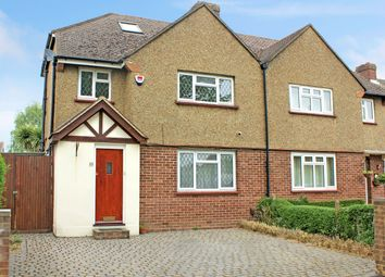 Thumbnail 4 bedroom semi-detached house for sale in Longmore Road, Hersham