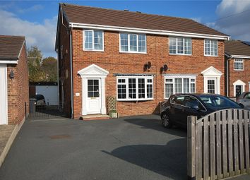 Thumbnail 3 bed semi-detached house for sale in Wellhouse Close, Mirfield, West Yorkshire