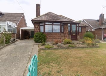 Thumbnail 3 bed detached bungalow for sale in Fairway Road, Hythe