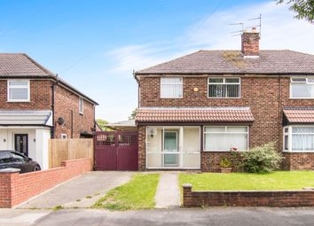 Thumbnail 3 bed semi-detached house for sale in Flaxhill, Moreton, Wirral