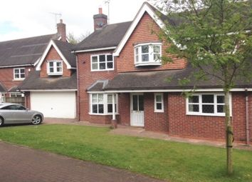 Thumbnail 5 bed detached house to rent in Stacey Gardens, Gnosall, Stafford