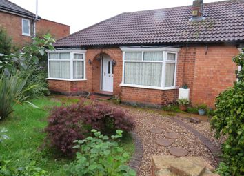 3 bed detached bungalow for sale in Garland Crescent, Leicester LE3