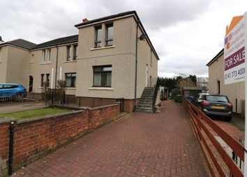 Thumbnail 3 bed flat for sale in Greenshields Road, Garrowhill