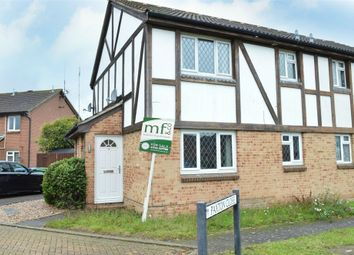 Thumbnail 1 bed terraced house to rent in Paxton Close, Walton-On-Thames, Surrey