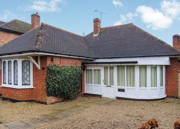 Thumbnail 2 bedroom detached bungalow for sale in Dalby Avenue, Bushby, Leicester
