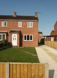 Thumbnail 3 bed semi-detached house to rent in Camborne Crescent, Retford, Retford