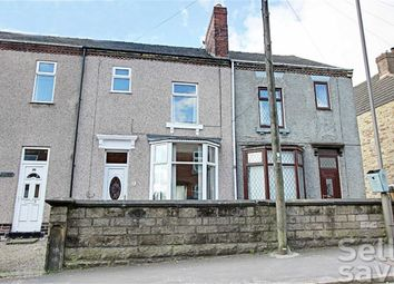 Thumbnail 3 bed terraced house for sale in Flaxpiece Road, Clay Cross, Chesterfield, Derbyshire