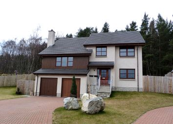 Thumbnail 4 bed detached house for sale in Lodge Lane, Aviemore