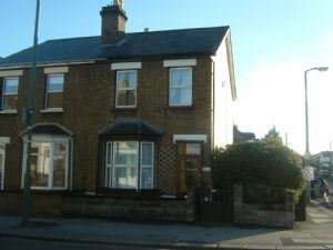 Thumbnail 2 bed terraced house to rent in Carshalton Road, Carshalton