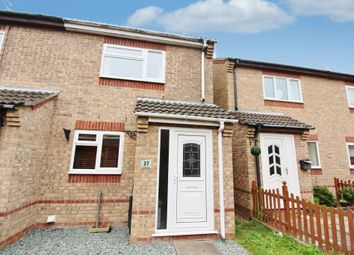 Thumbnail 2 bed end terrace house for sale in Wright Close, Caister-On-Sea