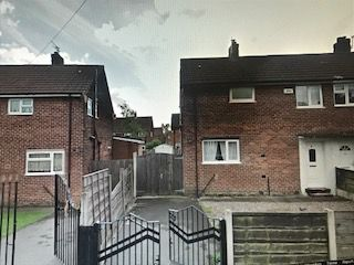 Thumbnail 1 bed semi-detached house to rent in Castleway, Swinton