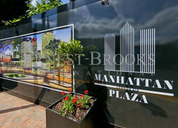 Thumbnail 2 bed property for sale in Manhattan Plaza, Town House, Canary Wharf
