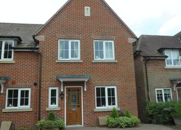 Thumbnail 3 bed terraced house to rent in The Pellows, Kingsclere, Newbury