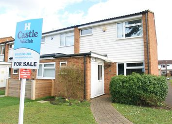 Thumbnail 3 bedroom end terrace house for sale in Conyers Close, Hersham, Walton-On-Thames
