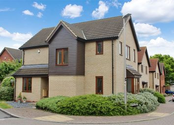 Thumbnail 4 bed detached house for sale in Laxfield Drive, Broughton, Milton Keynes, Buckinghamshire
