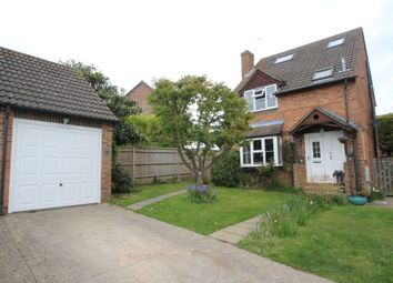 Thumbnail 4 bedroom detached house for sale in Pembroke Close, Burghfield Common